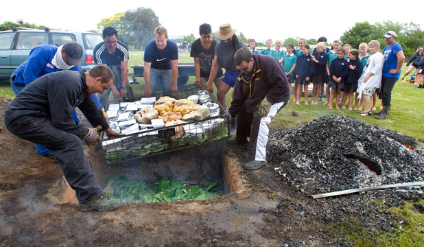 Science behind a hangi room 9 for Authentic new zealand cuisine